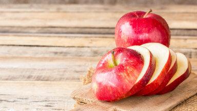 Värskelt lõigatud õun