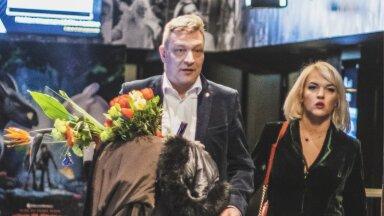 Lavastaja Ain Mäeots abikaasa Hanna Helenaga.
