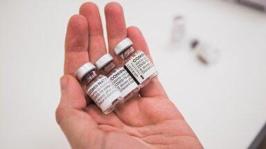 Ravimiamet: Eestis müüdavate vaktsiinide võime LAVi ja Brasiilia tüve tõrjuda on kuni kümme korda väiksem tavapärasest