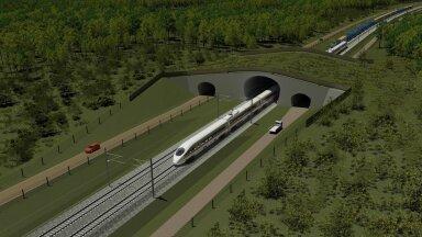 Rail Balticu eskiis.