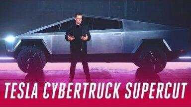ВИДЕО   Tesla презентовала пуленепробиваемый Cybertruck