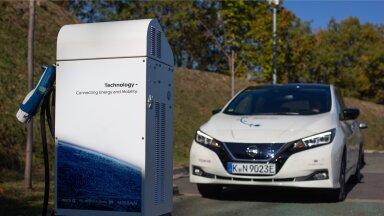 """""""Rahulik, ühtlases tempos ja ettevaatav sõidustiil annab ka Eestis elektriautodega väga häid tulemusi,"""" ütleb Erkki Ots."""