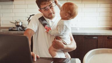 Ära karda küsida abi ehk ellujäämisõpetus beebiga koju jäävatele issidele