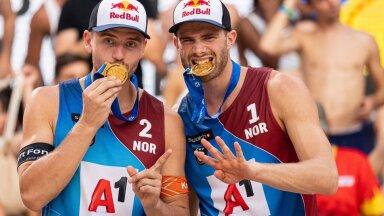 Christian Sörum ja Anders Mol.