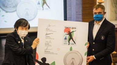 VIDEO JA FOTOD   Urmas Sõõrumaa silm näeb Tokyo olümpia postmargil mitmevõistlejat. Mis märk see võiks olla?