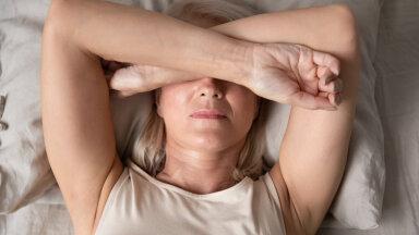 Menopaus võib kaasa tuua unetud ööd.