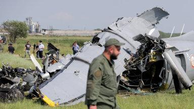 В России потерпел крушение самолет с парашютистами