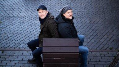 Eesti seriaalide tipptegijad Ergo Kuld ja Martin Algus on sellises hoos, et napilt on võimalik leida aega neid koos pildilegi saada.