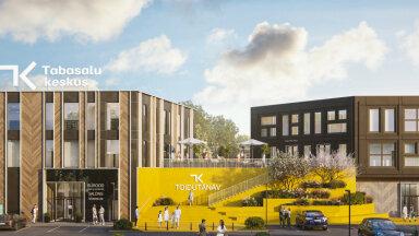 ФОТО | В Табасалу появится торговый центр стоимостью 15 миллионов евро