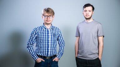 Ведущие подкаста Андрей Шумаков и Виталий Бесчастный