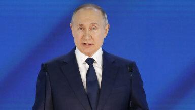 Putin võttis täna rahustava tooni