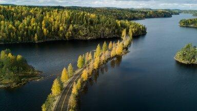 Архипелаг Puumala  в регионе Visit Saimaa в Финляндии