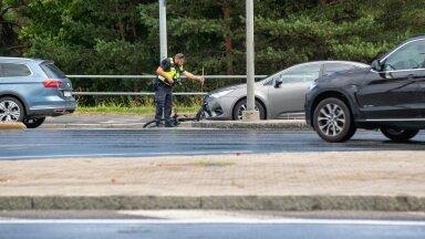 Õnnetuses viga saanud 15-aastane nooruk viidi haiglasse.