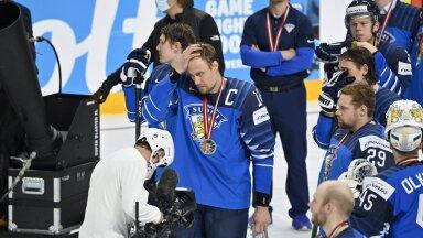 FOTOD | Lisaajal kulla kaotanud Soome hokikoondise kapten: riietusruumis oli päris vaikne
