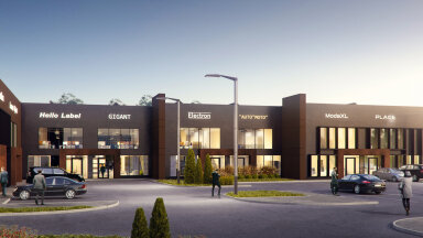 ФОТО   Строительство ласнамяэского бизнес-парка Priisle завершится в феврале. Смотрите, как он будет выглядеть!
