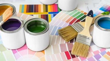 Kümme viga, millest hoiduda, kui hakkad maja värvima
