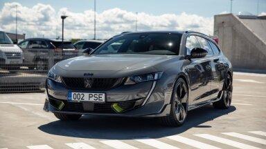 ГАЛЕРЕЯ   Peugeot представил в Эстонии свои самые мощные серийные модели