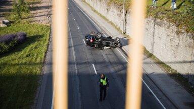 В Эстонии из-за гонок на дорогах случается все больше аварий