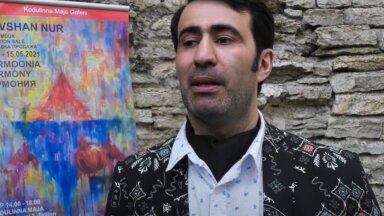 В галерее Kodulinna Maja открылась выставка азербайджанского художника Ровшана Нура
