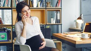 Personalitöötaja imerelv on rasedusgraafik