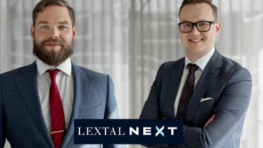 LEXTALi vandeadvokaat ja partner Rauno Kinkar, LEXTALi advokaat Henri Ratnik