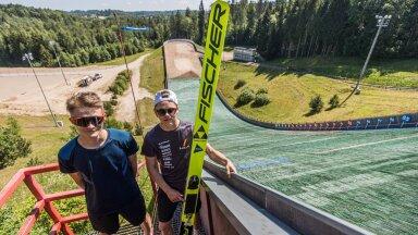 Kevin Maltsev (vasakul) ja Artti Aigro alustavad nädalavahetusel hooaega.