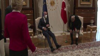 VIDEO | Von der Leyenile Türgi ja EL-i presidentide kohtumisel tooli ei jätkunud