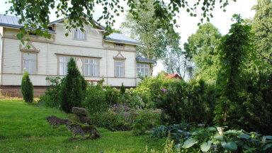 Villa Aaltonen, kus elavad Sisko Hallavainio ja eestlastelegi tuttav näitleja Risto Aaltonen