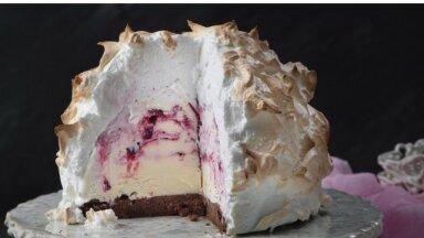 Jääkülm kulinaarne rännak ehk jäätis frititult, makrooni embuses, koogi sees ja pirukal
