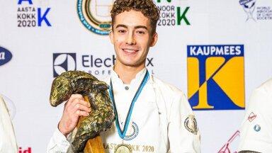 SUUR LUGU | Kuidas kõrge lennuga noor Eesti talent Noel Moglia Itaalia meeskonnal kokkade olulisemaks võistluseks valmistuda aitab