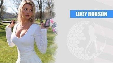 Девушка дня. Люси Робсон — одна из самых сексуальных гольфисток мира