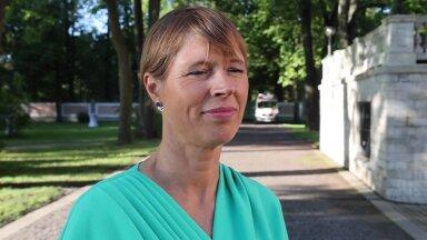 VIDEO   Kersti Kaljulaid presidendina jätkamisest: mulle on viimased arvamusküsitlused teinud siirast rõõmu!