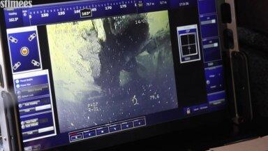 Kaader eilsest ohutusjuurdluskeskuse direktor Rene Arikase videopöördumisest. Estonia ramp on lahti.