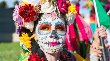 Lahkunute austamine Mehhikos