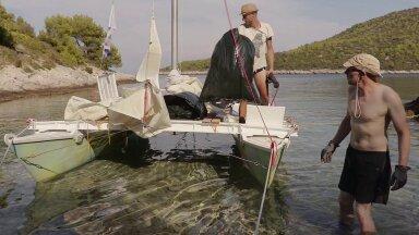 VIDEO I Eestlased plastikureostust avastamas – Horvaatia saarte varjatud randu katab jäätmekiht