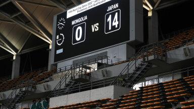 Tabloo Chibas, kus Jaapan võitis Mongooliat 14:0