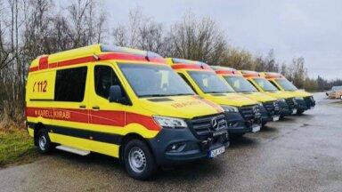 Karell kiirabi sai 10 uut autot, millel on viiruse vastu võitlev moodne tehnika