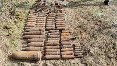 Саперы Сил обороны обнаружили в Латвии более 600 взрывных устройств