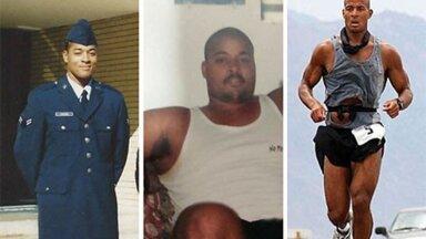 KAALUST ALLA: Pärast teenistust õhuväes sai David Gogginsist 136-kilone diivanikaunistus, kuni leidis oma sisemise jõu.
