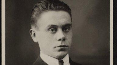 Bruno Linneberg pärast ohvitseridekooli lõpetamist 1921. aastal