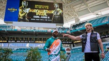 Floyd Mayweather juunior vs Logan Paul.