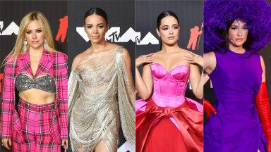 FOTOD | Haute couture'ist vintaažipärliteni välja — need on tänavuse MTV videoauhindade gala kauneimad kostüümid