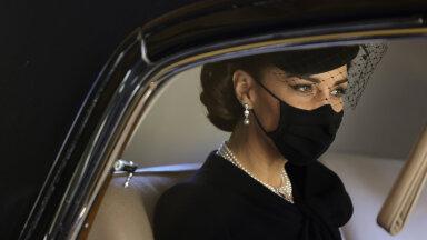 В наряде Кейт Миддлтон на похоронах принца Филиппа увидели подражание свекрови