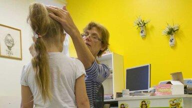 Paide Sookure lasteaia tervishoiutöötaja Mai Kaldoja hooleks on laste tervisemuredega tegelemine.