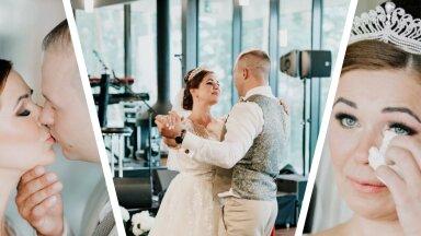 EKSKLUSIIVSED FOTOD JA INTERVJUU | Merlyn Uusküla pidas maha kuninglikud pulmad: tutvustega säästsime ligi 15 000 eurot!