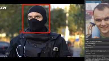 Tehisintellekt paljastas maski kandvate Valgevene eriväelaste näod