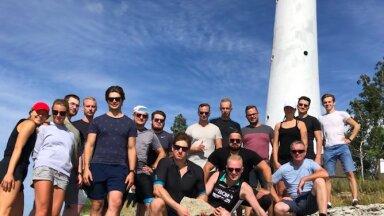 DeltaE meeskond suvepäevadel