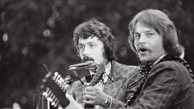 Apelsin 1976. aastal Pühajärvel: Tõnu Aare ja Ivo Linna