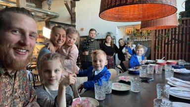 Многодетные семьи ищут кафе и рестораны в Эстонии, где рады детям