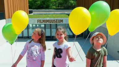 Lastelaager Filmimuuseumis
